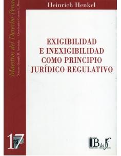 (17) EXIGIBILIDAD E INEXIGIBILIDAD COMO PRINCIPIO JURÍDICO REGULATIVO