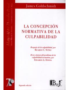 (7) LA CONCEPCIÓN NORMATIVA DE LA CULPABILIDAD