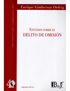 (41) ESTUDIOS SOBRE EL DELITO DE OMISIÓN