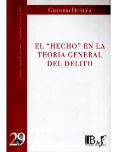 (29) EL HECHO EN LA TEORÍA GENERAL DEL DELITO