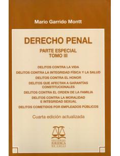DERECHO PENAL - PARTE ESPECIAL - TOMO III