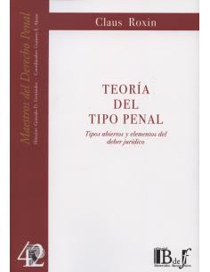 (42) TEORÍA DEL TIPO PENAL