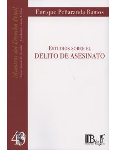 (43) ESTUDIOS SOBRE EL DELITO DE ASESINATO