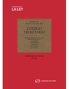 CÓDIGO TRIBUTARIO PROFESIONAL 2016