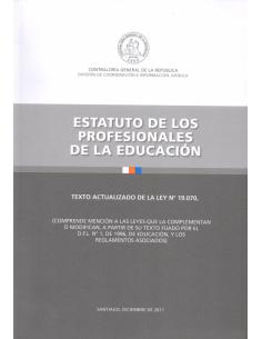 ESTATUTO DE LOS PROFESIONALES DE LA EDUCACIÓN