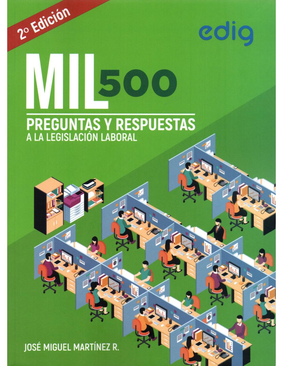 Mil500 Preguntas Y Respuestas A La Legislacion Laboral